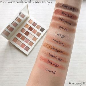 Personal Color Palette Pro Warm Tone Lips by Etude House #11